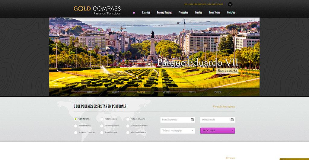 gold-compass