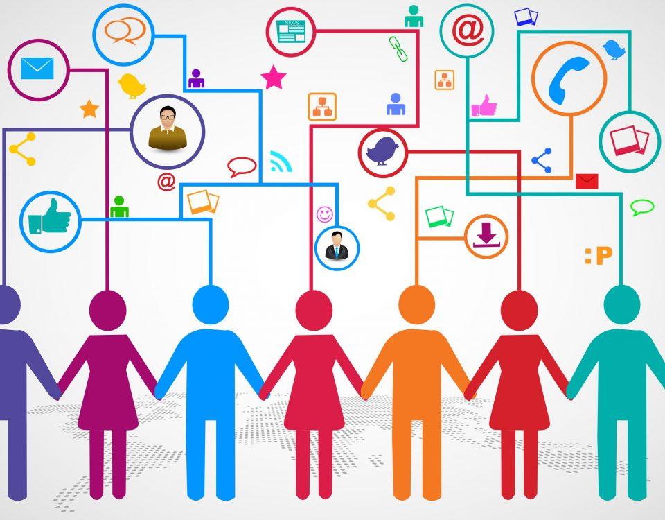 A Comunicação nas Redes Sociais