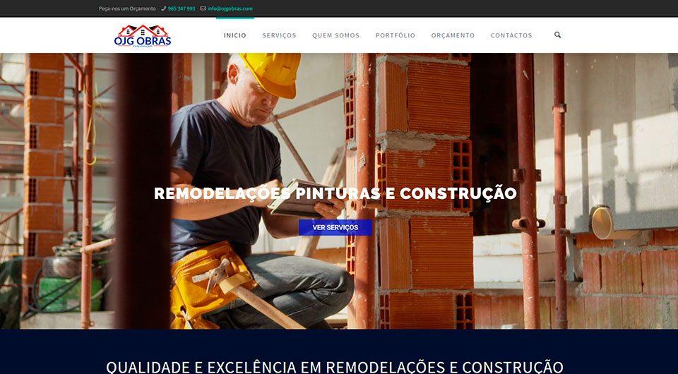 OJG Obras - Construção