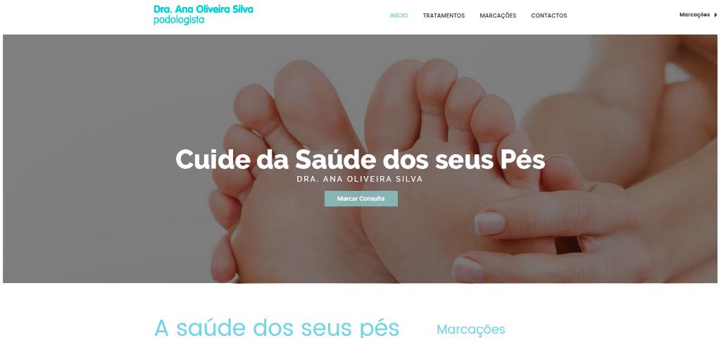 Podologia Dra. Ana Oliveira Silva